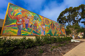 Chicano Park Murals Map by Chicano Park Tours Open House San Diego