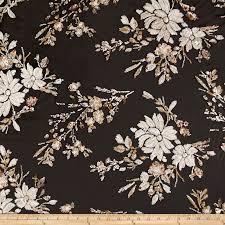 100 Flannel Flower Glass Henry Bumble Garden Orange Peel Multi Fabric