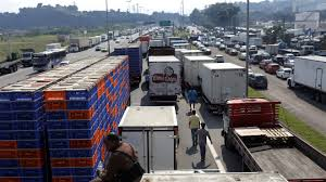 The Wall Street Journal: Brazil Reaches Deal To End 7-day Truckers ... Truck Strike Striking Truckers Cause Traffic Jam Editorial Stock Truck Drivers Strike Exposes Brazils Logistics Vulnerability Port Truck Launch Definite At Ports Of Los Angeles Truckers Four Shipping Companies Southern California The Regis Bittencourt Road In Sao Paulo Sainsburys Again General Se23 Forum Forest Hill Goods Lorry Latest And Breaking News On To Shut Down America Plans 3day National Trucking Strike Ipdent Drivers Are Ready To Likely Ground Secondquarter Brazil Growth Near Star Weekly Another Strikes Notorious Napier Street Bridge