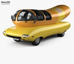 Oscar Mayer Wienermobile 2012 3D Model - Vehicles On Hum3D