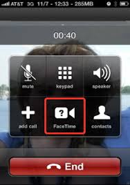 FaceTime for iPhone
