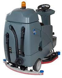 Riding Floor Scrubber Training by Rs32 Rider Auto Scrubber Ice