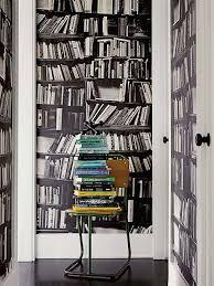 13 best Bookshelf Wallpaper images on Pinterest