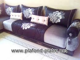 modèles de tissus pour salon marocain plafond platre