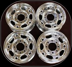 16 Inch 8 Lug Alloy Wheels For Chevy 2500 3500 Silverado