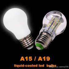 e26 e27 liquid cooled led light bulbs a15 a19 6w 8w 10w 12w eye