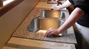 lazy granite kitchen countertop installation