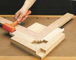 Jig Helping Align And Tighting An Angle Joint Together The Is Called Miter Corner Clamp