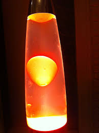 Beatles Help Lava Lamp by Wife Mum Student Bum May 2015