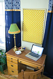 Fabric For Curtains Diy by How To Make A Fabric Covered Bulletin Board For A Family Command