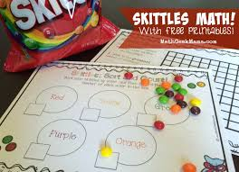 FREE Printables To Explore Important Early Math Concepts With Skittles Lots Of Fun Ideas