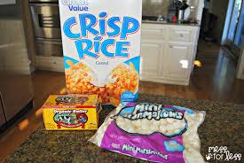 Rice Krispie Halloween Treats Spiders by Halloween Treats Monster Crispy Rice Treats And Tombstone Pizza