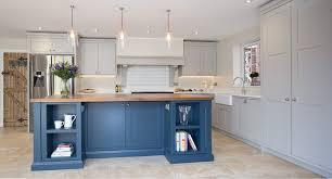 Blue Grey Kitchen Island Quicu
