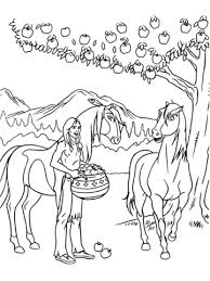 Click To See Printable Version Of Some Apples For Spirit And Rain Coloring Page