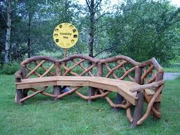 Best 25 Rustic Outdoor Benches Ideas On Pinterest With Regard To Plans 4