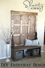 hall tree bench woodworking plans hall tree storage bench plans