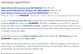 Apple Airpods Pre-Order $10 Off (no Tax In Some, Free ... Ibm Tiree Discounts Hertz Clothing Stores With Military Porter Counter Height Bar Stool Ashley Fniture Homestore 20 Off Function Of Beauty Coupons Promo Codes Savingdoor Netaportercom 500 Blue Nile Coupon Code Enjoyment Tasure Coast Book By Savearound Issuu 10 Autozone Deals 2019 Groupon 50 Best Advent Calendars Ldon Evening Standard Netaporter Home Facebook October Sale 40 Cashback