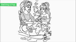 Top 25 Free Printable Beautiful Barbie Coloring Pages