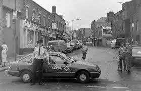 bureau d olier vintage kevin st garda holds the traffic back due to a crash the other end