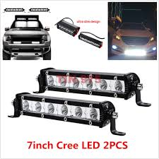 2PCS 18W CREE Spot Beam Ultra Slim Single LED Light Bar Work Off ... 17 80w Single Row Slim Low Profile Led Light Bar Backup Reverse 30in Led Hidden Grille Kit For 1418 Chevrolet 2016 2017 2018 Gmc Sierra 1500 Torch Stealth Main Insert W 6 Inch Mini 18w Ip67 4x4 4wd Tractor Car Atv Spot 53 Razor Extreme Lightbarled Light Barsled Outfitters Lighting Latest Models Specifically Bars For Trucks 2pcs Cree Beam Ultra Work Off Amazoncom Genssi 120w 21 Road Truck Luxury F82 In Stunning Collection With Trophy Lights And Light Bar Archives My Trick Rc How To Install An On The Roof Of My Truck Better 42018 Gm 30inch Curved Cree