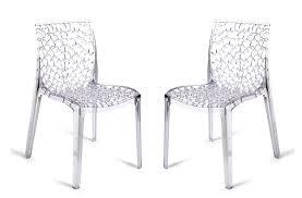 chaises plexi chaise plexi cool chaise en plexi transparent elizabeth pour enfant