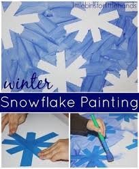 Preschool Approach To Snowflakes