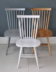 100 Dining Chairs Painted Wood Or Oak Spindle Back Chair Dining