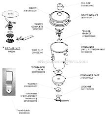 Hamilton Beach 990 Parts List And Diagram