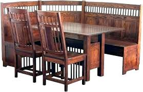 Mission Style Dining Table And Chairs Set