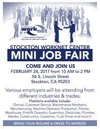100 Truck Job Seekers EDD On Twitter Stockton Area Join Us For MINI JOB