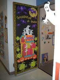 Halloween Classroom Door Decorations by 39 Best Halloween Bulletin Board Ideas Images On Pinterest