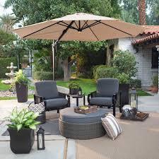 Tilt Patio Umbrella With Base by Outdoor Offset Patio Umbrella Costco For Your Patio Design Ideas