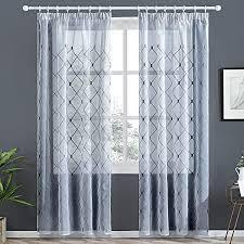 gardinen vorhänge voile vorhänge transparent gardine