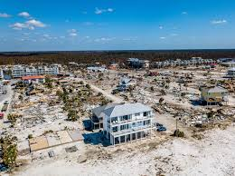100 Houses F Among The Ruins Of Mexico Beach Stands One House Built For