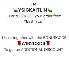 Coupon Codes For Yesstyle (@yesstylecoupon) 15% OFF With The ... Coupon Codes For Yesstyle Yesstylecoupon 15 Off With The Yesstyle Reward Code Bgta8w Happy Shopping Guys Make Shipping Fun Things To Do In Chicago For Couples Yesstylecoupons Instagram Post Hashtag Couponsavings 34k Posts Photos Videos Youtube Coupons 100 Workingdaily Update Calyx Corolla Coupon Code Qdoba Coupons Nov 2018 Competitors Revenue And Employees Owler Company Tmart Com Home Depot Discount Online Industry Print Shop Mpg Hypervolt Massage Grove Collaborative