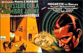 le mistere de la chambre jaune l âge d or du cinéma français le mystère de la chambre jaune de