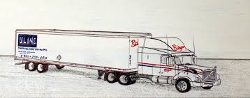 Here Is A Kenworth T2000 Drawn As Truck For Smithway Motor Express SMX Was Headquartered In Ft Dodge IA And Large Dry Van Flatbed Fleet With
