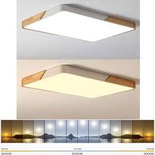 80w led rechteckige deckenleuchte dimmbar flurle küchele wohnzimmer schlafzimmer