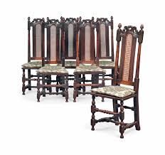 A SET OF SIX WILLIAM AND MARY OAK HIGH-BACK CHAIRS | LATE ... Set Of Six 19th Century Carved Oak High Back Tapestry Ding Jonathan Charles Room Dark Armchair With Antique Chestnut Leather Upholstery Qj493381actdo Walter E Smithe Fniture 4 Kitchen Chairs Quality Wood Chair Folding Buy Chairhigh Chairfolding A Pair Of Wliiam Iii Oak Highback Chairs Late 17th 6 Victorian Gothic Elm And Windsor 583900 Hawkins Antiques Reproductions Barry Ltd We Are One Swivel Partsvintage Wooden Oak Wood Table With White High Back Leather And History Britannica