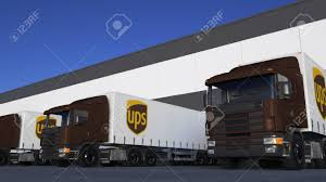 Freight Semi Trucks With United Parcel Service UPS Logo Loading ... Free Loading Trucks Cliparts Download Clip Art Liebherr L586 Wheelloader Youtube Icon Stock Vector More Images Of Box Of In Saline Factory Photo Image Sodium Palletized Load System Wikipedia Faw 8x4 Bulldozer Trucksheavy Duty Truck Transportation Lorries Unloading Depot Warehouse Picture Area Edit Now 197432957 Fileexcavator Loading Sand Onto A Truck In Jyvskyljpg Caterpillar 990f Wheel Loader Trucks Two Passes With 4 Safety Tips For Your Docks Frontier Pacific