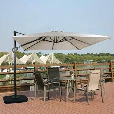 Of Umbrella With Solar Lights Best Cantilever And Patio Umbrellas Images On Offset Garden Treasures Replacement New