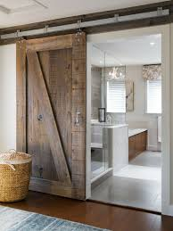 Bathroom: Interior Sliding Barn Door For Bathroom With Single ... Barn Tin Bathroom Country Homes Pinterest Pottery Sussex Triple Sconce Bitdigest Design Bathroom Bed Bath Fniture Monogrammed New York 11 Terrific Vanities For Inspiration Our Vintage Home Love Master Redo Featuring Reclaimed Wood Cabinets Crate And Barrel Vanity Cabinet Cldcepartnershipsorg Bathrooms Restoration Sinks Style Farm Sink Console Look