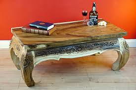 couchtisch holz opiumtisch massivholz opium sofa tisch