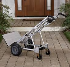 100 Best Hand Truck Cosco 3in1 Aluminum Assisted Cart W Flat