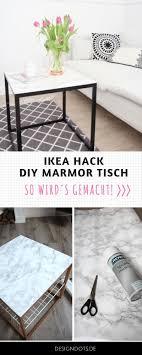 diy beistelltisch mit marmorplatte ikea hack design dots in