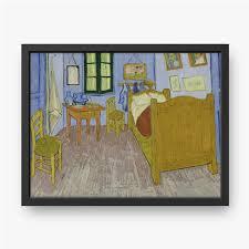 gerahmte leinwandbilder vincent gogh schlafzimmer in arles 1888