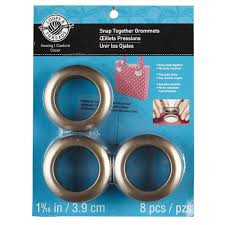 Dritz Curtain Grommet Kit by Loops U0026 Threads Snap Together Grommets