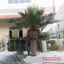 prix des palmiers exterieur sjh031601 plastique palmier extérieur artificielle palm arbres à