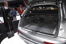 volume coffre x5 7 places audi q7 e 2015 à bord du 1er suv diesel hybride