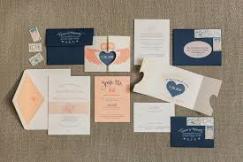 Custom Save The Date And Wedding Invitation Suite Featuring A Die Cut Claddagh Ring